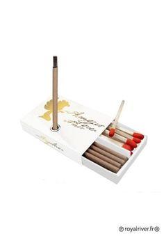 Encens - boite allumettes et mini encens - Happy stick angelove