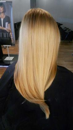 Golden Blonde tones