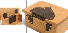 how to make leather hinges - Google Search