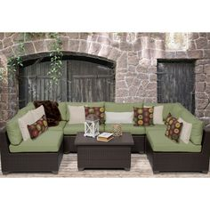 Found it at Wayfair - Belle 7 Piece Deep Seating Group with Cushion