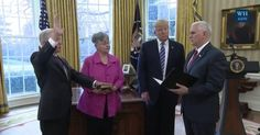 Full Video & Transcript: President Donald Trump Partakes in Swearing-in of Attorney General Jeff Sessions, Thurs., Feb. 9, 2017