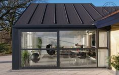 Party Places, Small House Design, House Extensions, Black House, My Dream Home, Facade, Gazebo, New Homes, Sweet Home