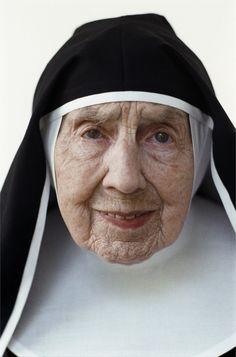 Elderly nun