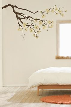 White Branches Wall Decal Set