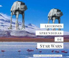 Maite: Lecciones aprendidas de Star Wars