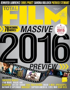 #TOTALFILM Magazine #241, #January. 78 incoming movies!! Next year is big. And not just because there are 366 days. Review of the year 2015 rated & slated. Massive 2016 review!