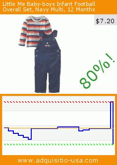 Little Me Baby-boys Infant Football Overall Set, Navy Multi, 12 Months (Apparel). Drop 80%! Current price $7.20, the previous price was $36.00. http://www.adquisitio-usa.com/little-me/baby-boys-infant-football-9
