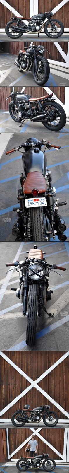 cb550 custom build by sg builder brady young