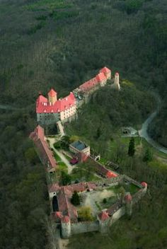 Hrad Veveří, castle in the Czech Republic ✈✈✈ Don't miss your chance to win a Free Roundtrip Ticket to anywhere in the world **GIVEAWAY** ✈✈✈ https://thedecisionmoment.com/free-roundtrip-tickets-giveaway/