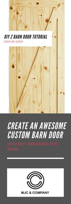 16 Ideas For Sliding Barn Door Plans Easy Diy Projects Diy Barn Door Hardware, Diy Sliding Barn Door, Diy Door, Diy Barn Door Plans, Entertainment Center, Barn Door Closet, Simple Closet, Diy Shops, Do It Yourself Home