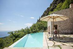Stone clad retreat with breathtaking views of Lake Garda, Italy