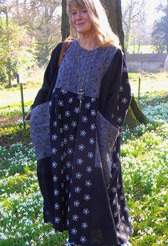 Patchwork Baggy Dress £270 (plain £260).