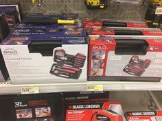"Pointlessly gendered tool kits. @ maxnesterak: ""Literally the same thing but the pink set is $5 cheaper @SocImages"""