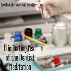 Stop being afraid of the Dentist, eliminate your anxiety about it and never dread an appointment again! This meditation helps you get yourself ready to go to the Dentist. You'll be comfortable and relaxed by the time you get there and the whole experience gets categorized in your mind as something very common place like running errands or making a phone call. This download is to prepare you to go to the dentist.