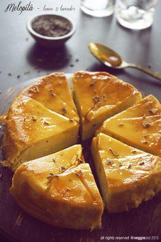 Lemon and Lavender Melopita
