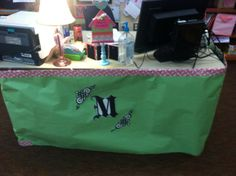 My desk :) the trim is hello kitty duct tape!
