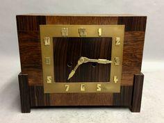 Antique Mantel, Amsterdam School, Art Deco, School Design, Cartier, Clocks, Liquor Cabinet, Antiques, Table