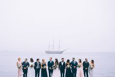 moody nautical florals by foret design studio // photo by cambria grace