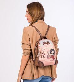 Anekke Arizona - Batoh Arizona, Cactus Print, Country, Fashion Backpack, Backpacks, Zipper, The Originals, Collection, Pockets