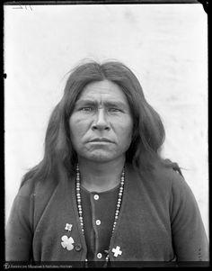 Apache man, White River, Arizona