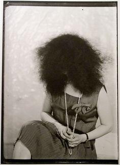 Denise Tual, Paris, 1935 by Man Ray