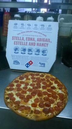 Pizza de encantada Pizza, Pepperoni, Food, Meals