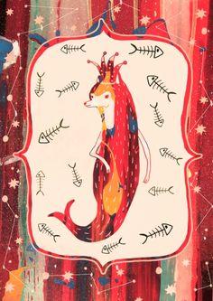 Foxy Lady - Illustration by Svabhu Kohli