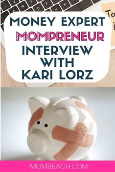 Today's Inspiring Mompreneur is Kari Lorz, a money expert at Money for the Mamas! She is a blogger that is a mom. Learn how she manages blogging and working from home. She is a stay at home mom that makes money online by blogging. #stayathomemomjobs #stayathomemom #workfromhome #blogging #financeblogger
