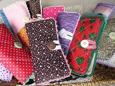 bolsinhas para lenço de papel