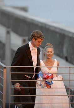 Pierre - Beatrice - reception after religious wedding - Rocca di Angera - Lake Maggiore - Italy - August 2015