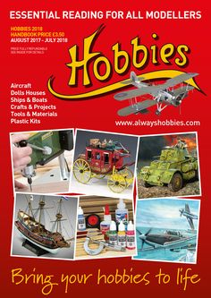 At Hobbies we have a great selection of books that covers all sorts of crafts and Hobbys from wood turning and whittling to making you own dolls house furniture. Hobbies For Women, Great Hobbies, Hobby Shops Near Me, Boat Crafts, Ship Craft, Boat Projects, Learn A New Skill, Whittling, Craft Materials