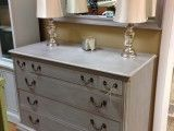 SOLD - Dresser and matching mirror. Price - $389.