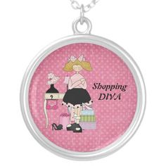Shopping Diva Necklace