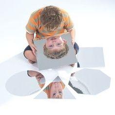 Miroirs incassables - Formes géométriques.
