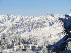 Vista panoramica dei nostri amici dell'Hotel Monte Bondone e del paesaggio circostante