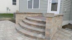 raised paver patio - Google Search