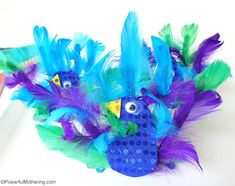 Peacock Animal Craft - Powerful Mothering