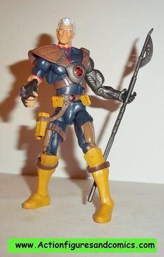 marvel universe CABLE series 3 007 hasbro x-men force 3.75 inch action figures