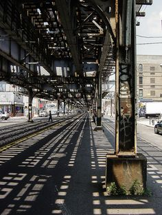 the Bronx, under the El
