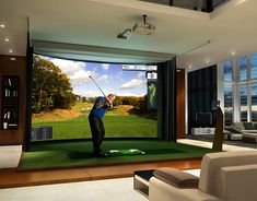 Test your game on the state of the art indoor golf simulators at www.bestgolfsimulatorsforhomereviews.com Check your statistics include swing speed, club path, carry distance, spin rate, and many more! Visit now. #bestgolfsimulators #indoorgolf #shopgolfsimulators #golfsimulatorsreview #playgolf #stayfit #stayhealthy #lovegolf