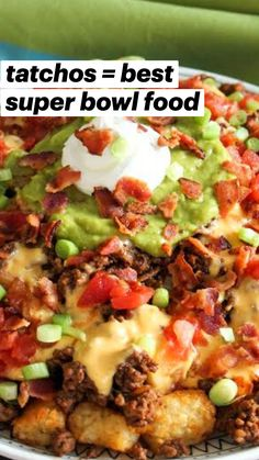 Mexican Food Recipes, Beef Recipes, Chicken Recipes, Cooking Recipes, Healthy Recipes, Ethnic Recipes, Recipies, Best Superbowl Food, Football Food