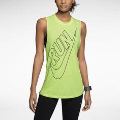 Nike Tailwind Loose Women's Running Tank Top. Nike Store
