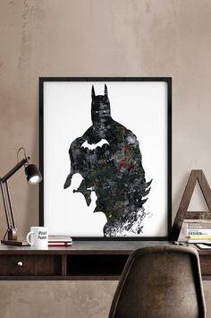 Batman Photo vie Etsy $12.24+