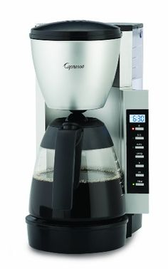 Capresso Specialty Coffee Makers CM 200 BlackSilver Accents >>> More info could be found at the image url.