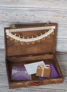 Inicjały na ślub w stylu rustykalnym, pudełka na obrączki, lampiony... Kraków - image 8