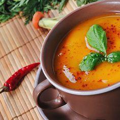 [66 cal per 1 cup] - Slow Cooker Pumpkin Soup