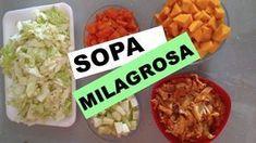 Dieta Das Sopas Milagrosas: 03 Receitas de Sopas Milagrosas