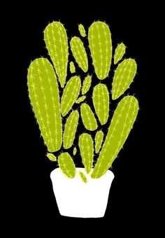 Wee Cactus print - ashleyg.etsy.com