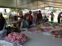 Bay Port Fish Sandwich Festival Tent