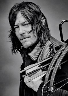 Norman Reedus as Daryl Dixon photographed for TV Guide